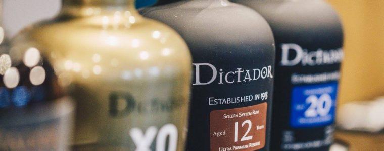 Degustacja rumów Dictador
